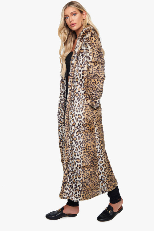 Soho Cheetah Coat