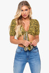 Text My Ex Leopard Top