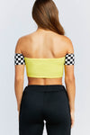 Finish Line Checkered Top