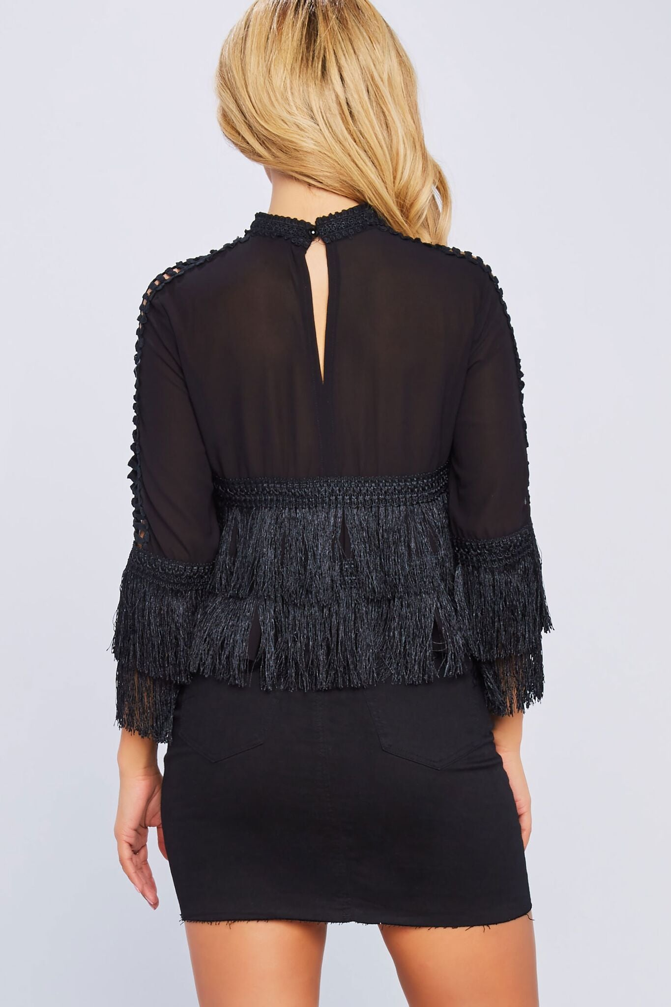 Good Intentions Fringe Top