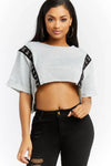Hooked On You Crop Tee