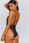 Plunging Highcut One-Piece
