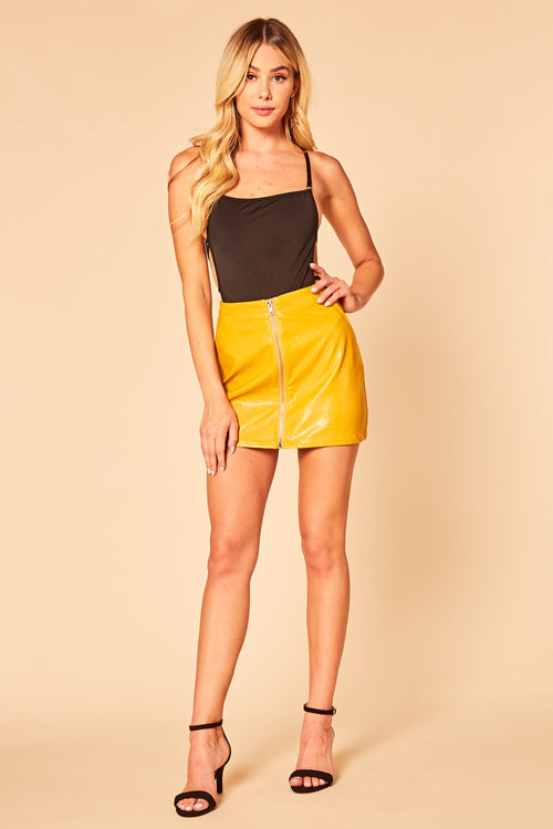 Meow Mod Mini Skirt - HoneyBum