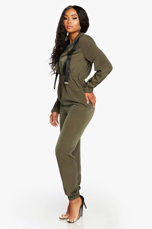 Top Gun Buckle Jumpsuit