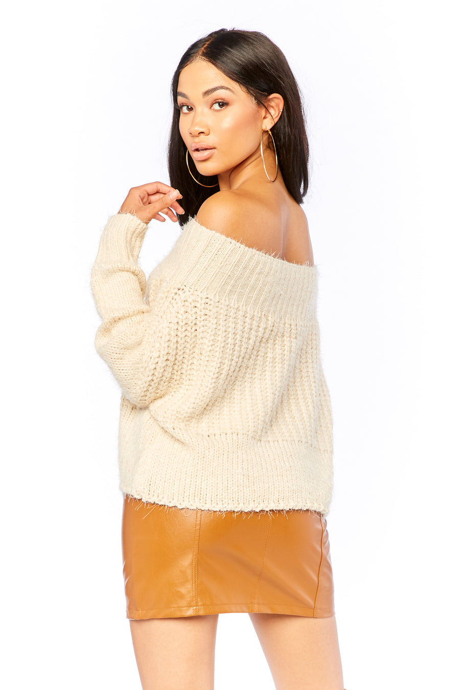 Ophelia Mohair Sweater - HoneyBum