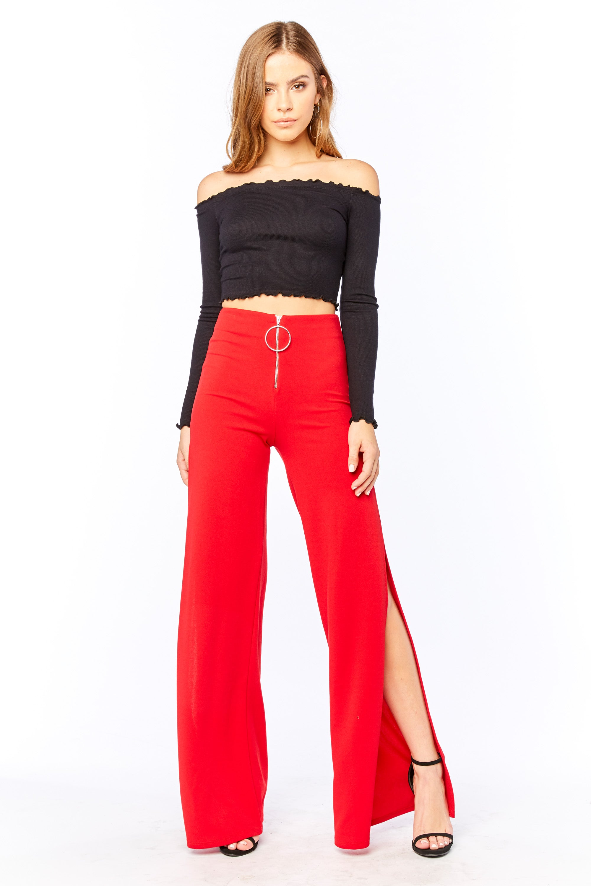 Proceed With Caution Pant - HoneyBum