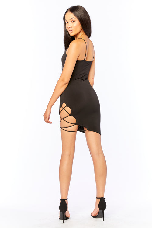 Body Language Mini Dress - HoneyBum