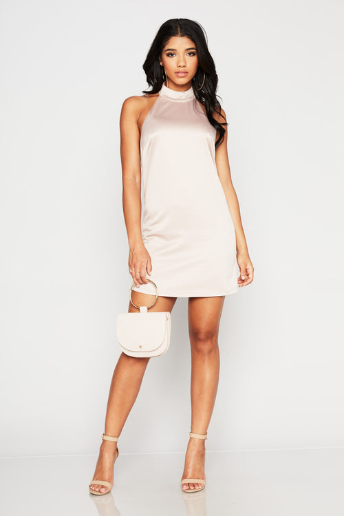 Made You Look Mini Dress - HoneyBum