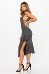 Not At Home Knit Dress - HoneyBum
