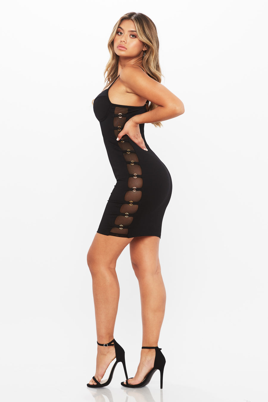 Few Steps Dress - HoneyBum