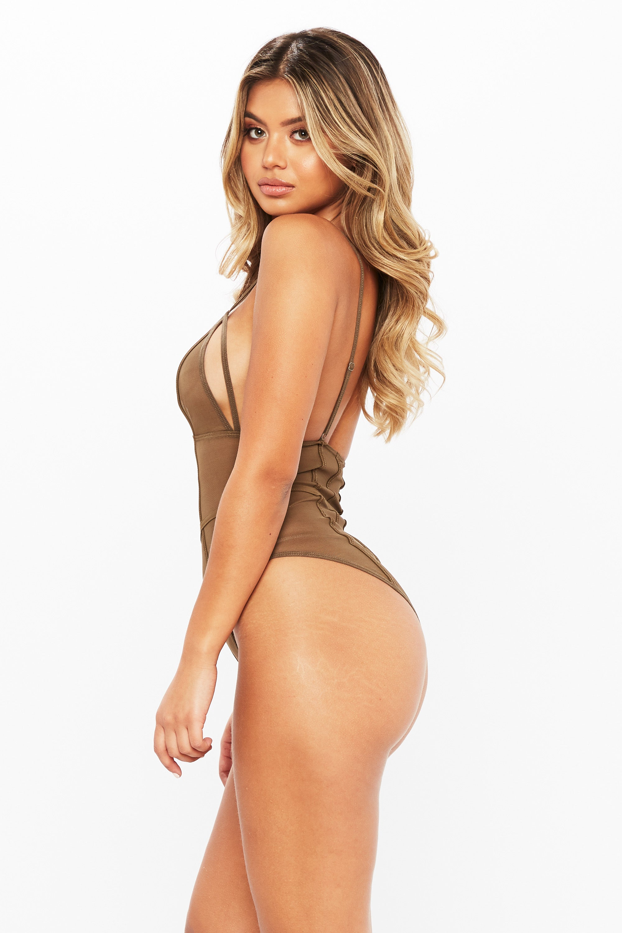 Piped Piper Bodysuit - HoneyBum