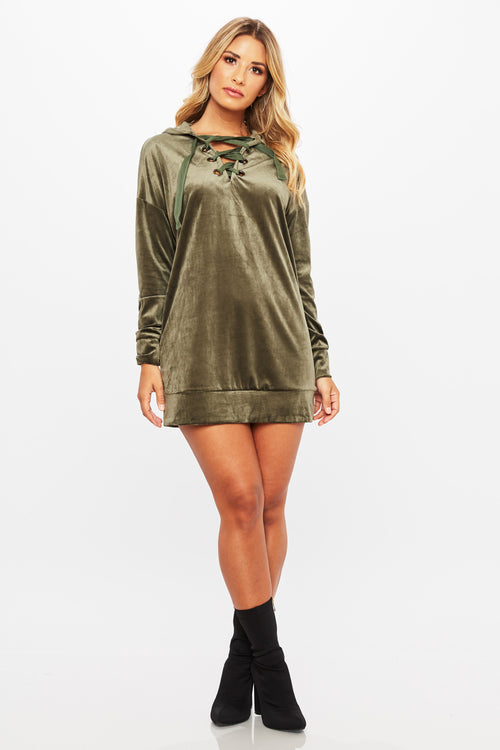 Don't Cross Me Hoodie Tunic - HoneyBum
