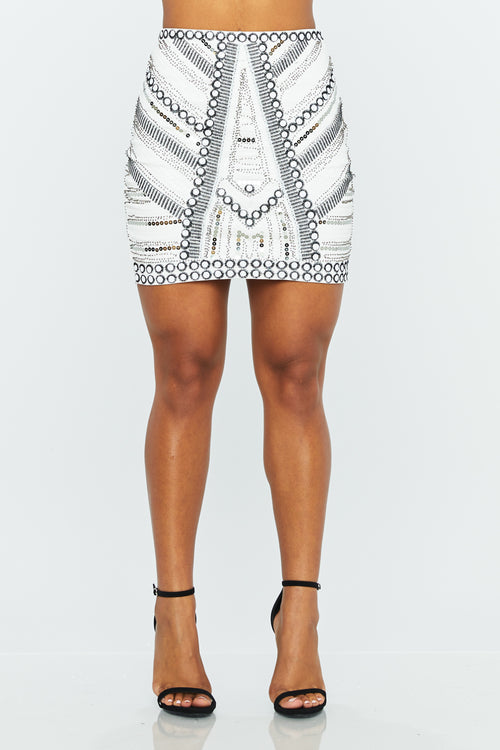 In My Element Mini Skirt - HoneyBum