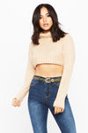 Short Term Crop Sweater - HoneyBum