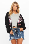 Gina Zip Up Pullover - HoneyBum