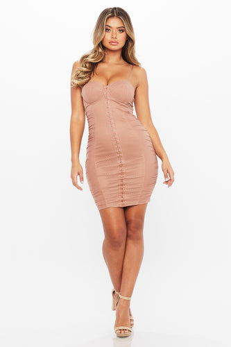 Hook It Up Dress - HoneyBum