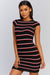 Aftershock Striped Dress