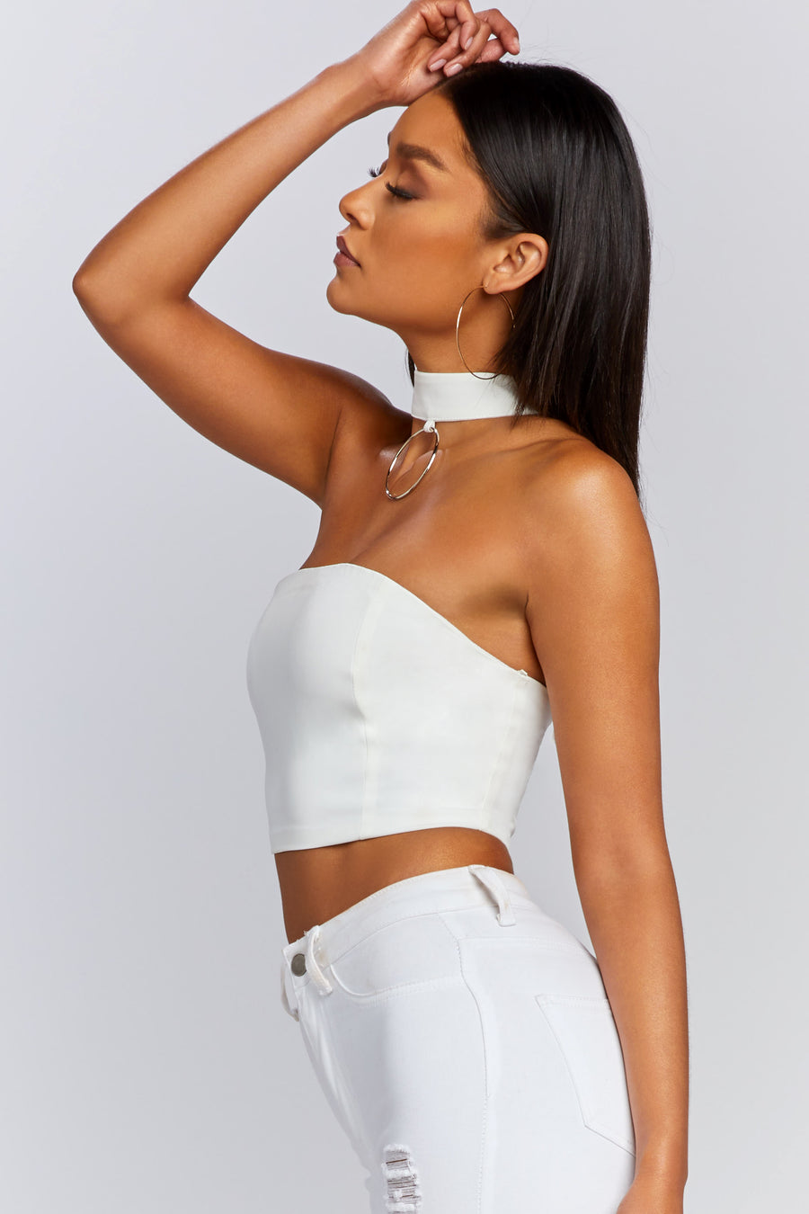 No Labels Choker Top