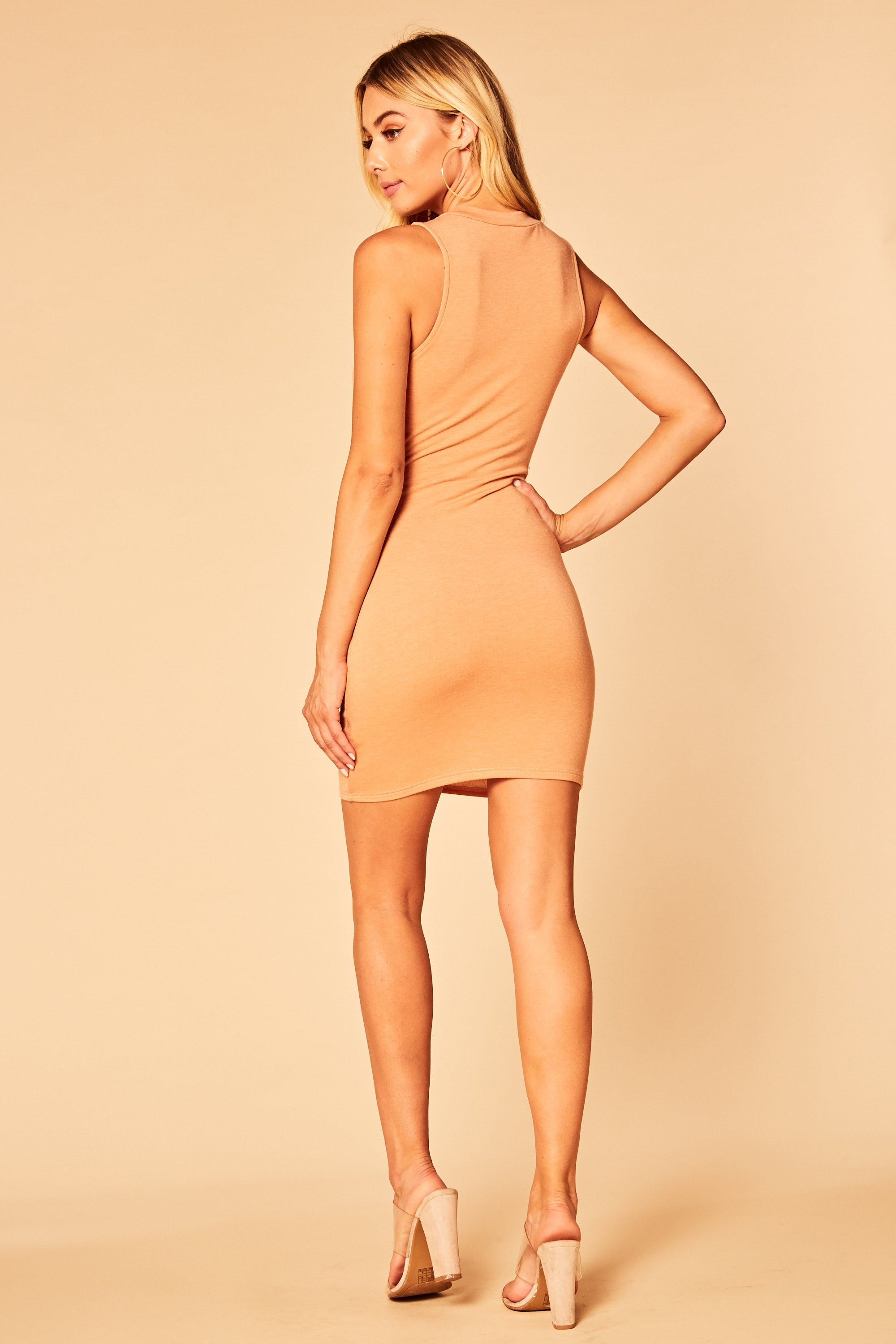 Let It Burn Tank Dress - HoneyBum