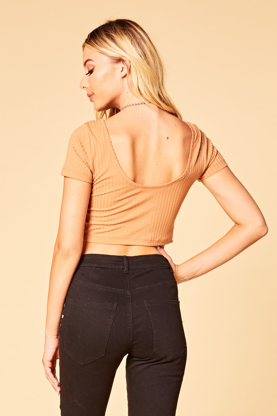 Chloe Crop Top - HoneyBum