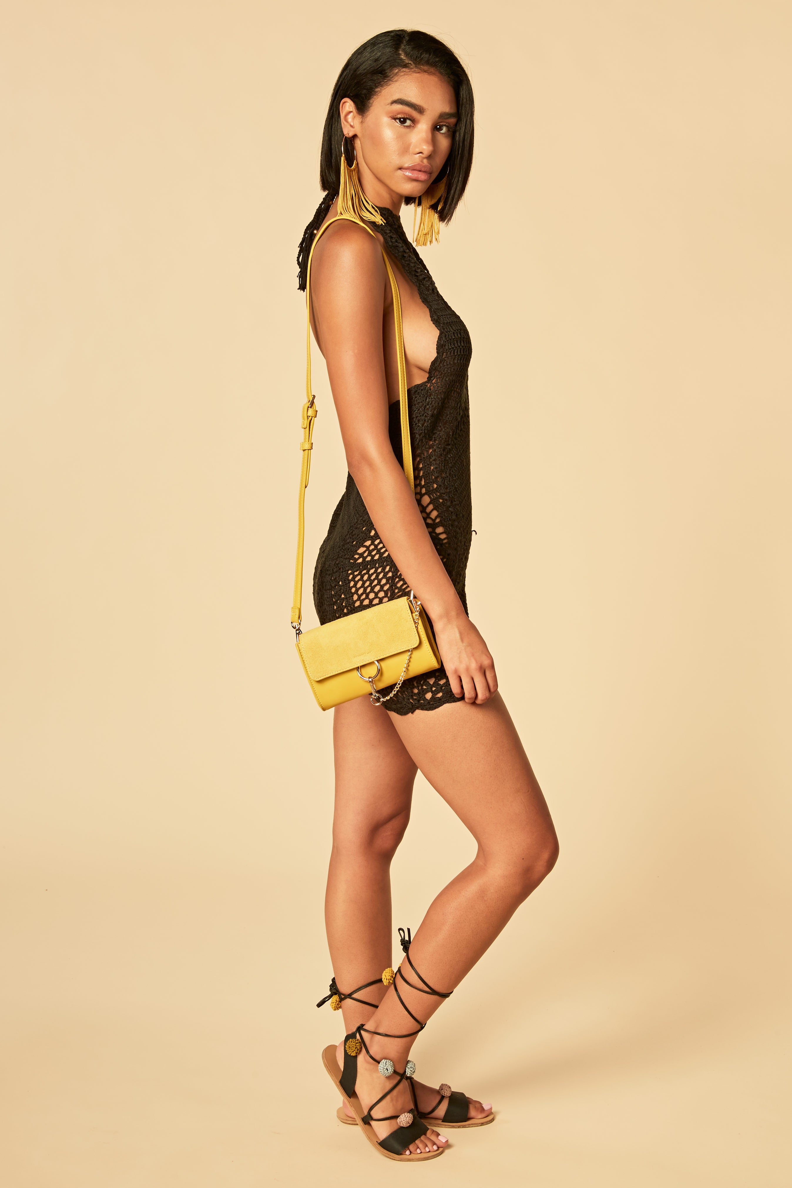 Risk It All Crochet Dress - HoneyBum