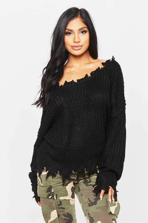 All Nighter Sweater - HoneyBum