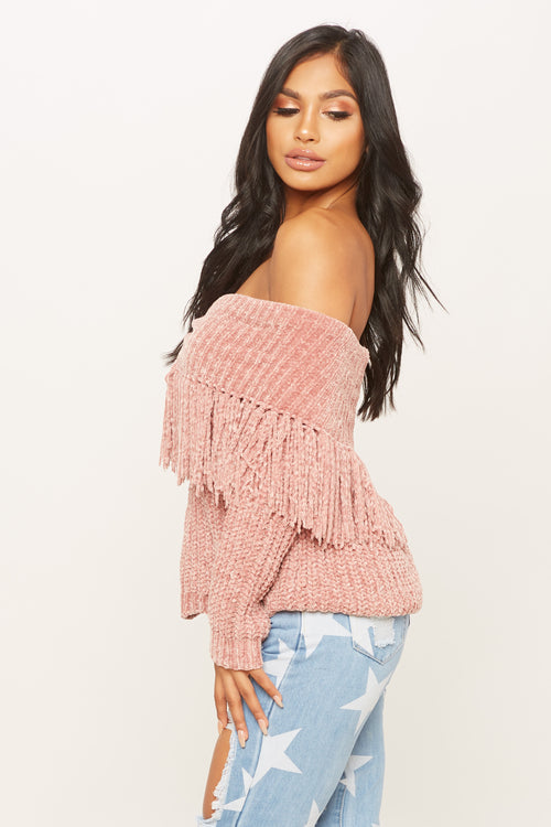 Bend The Trend Sweater - HoneyBum