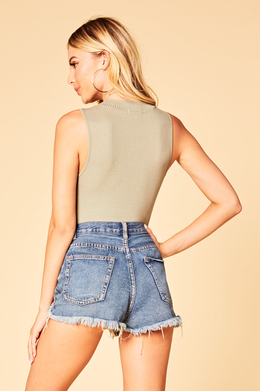 Mock Me Bodysuit - HoneyBum