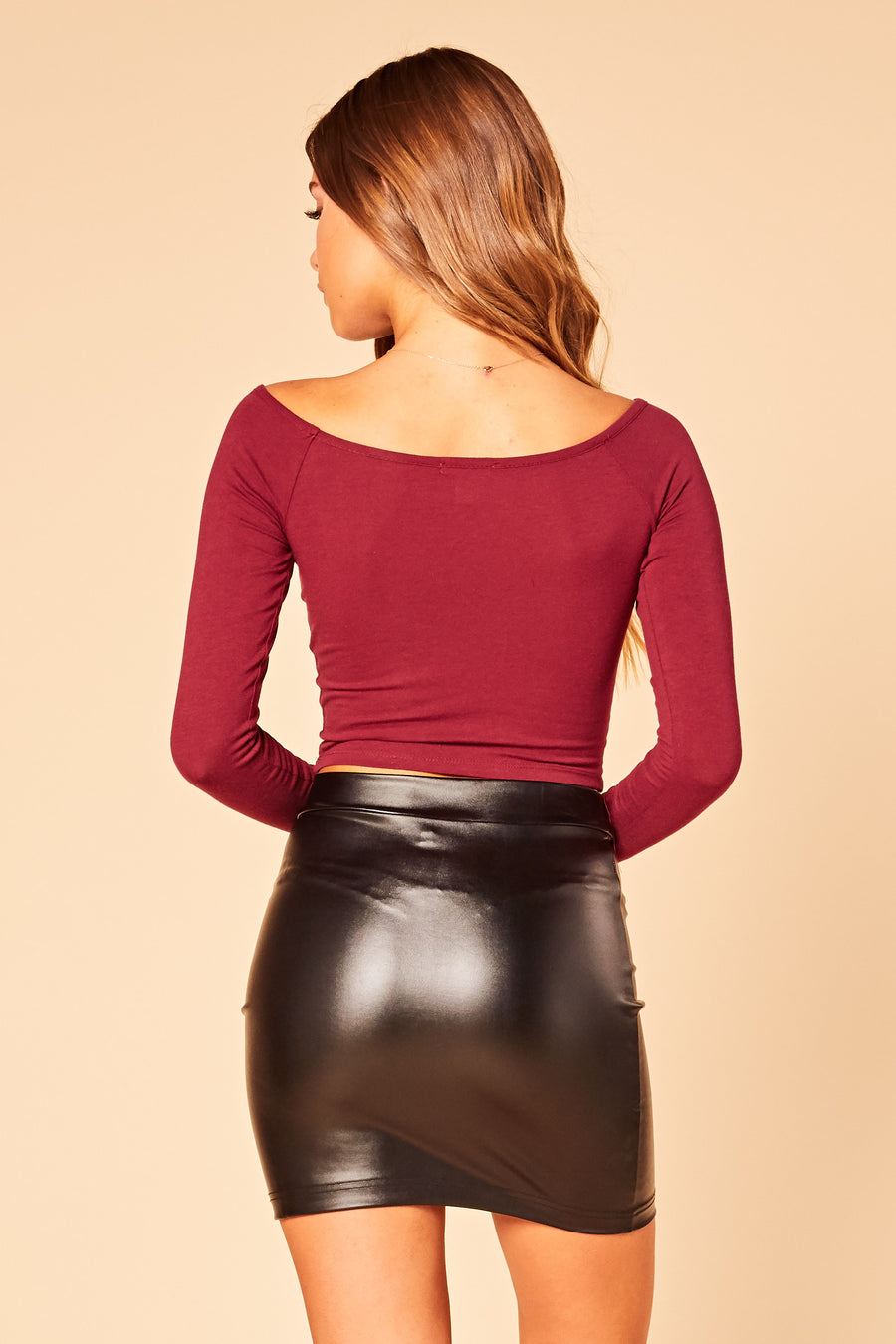 Catina Crop Top - HoneyBum