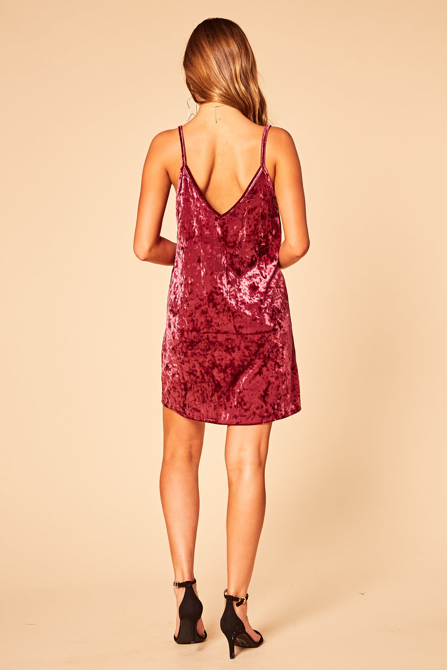 Constant Crush Slip Dress - HoneyBum