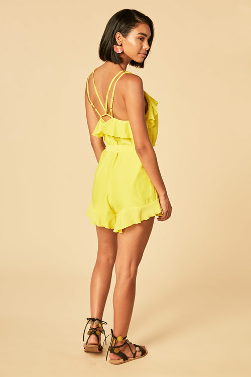Willow Playsuit - HoneyBum