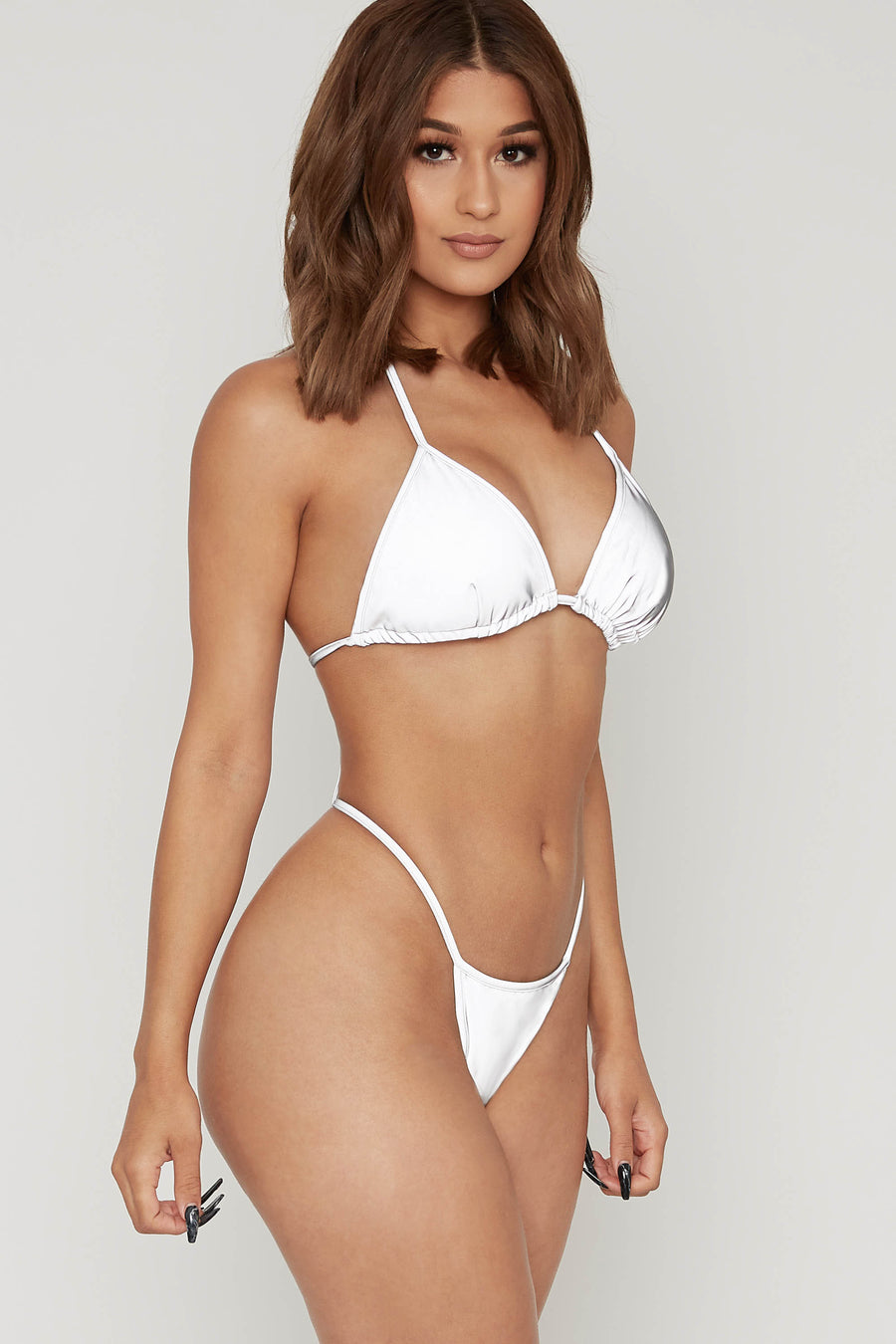 Light Up The Night Reflective Bikini