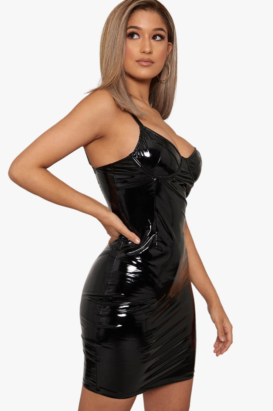 No Fool Latex Dress