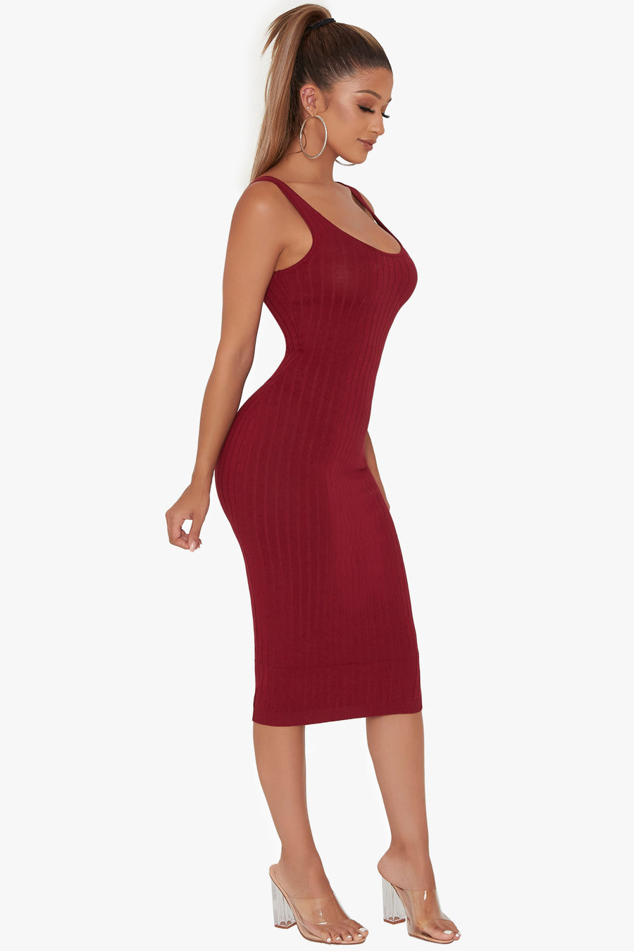 Walk This Way Ribbed Dress