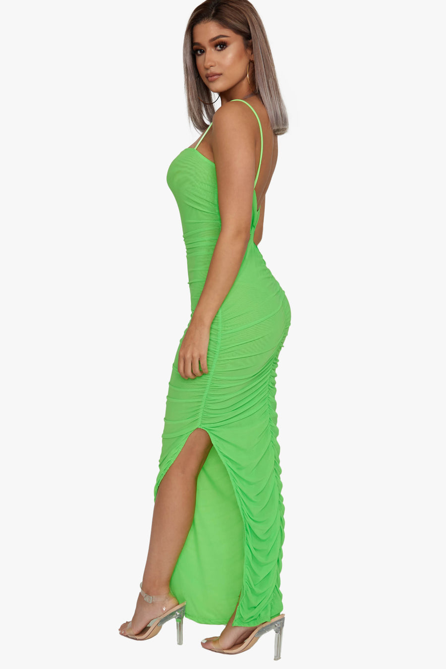 Run It Mesh Maxi Dress