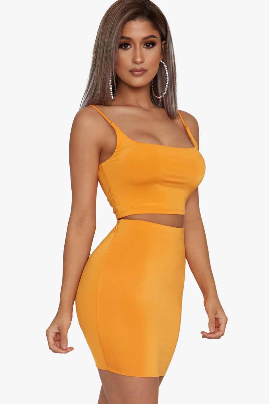 Mango Madness Mini Skirt Set