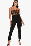 Controversy Lace Jumpsuit