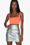 In The Clouds Hologram Skirt