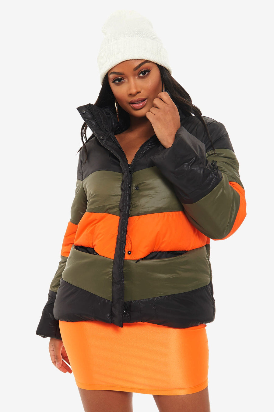 Too Emotional Puffer Jacket