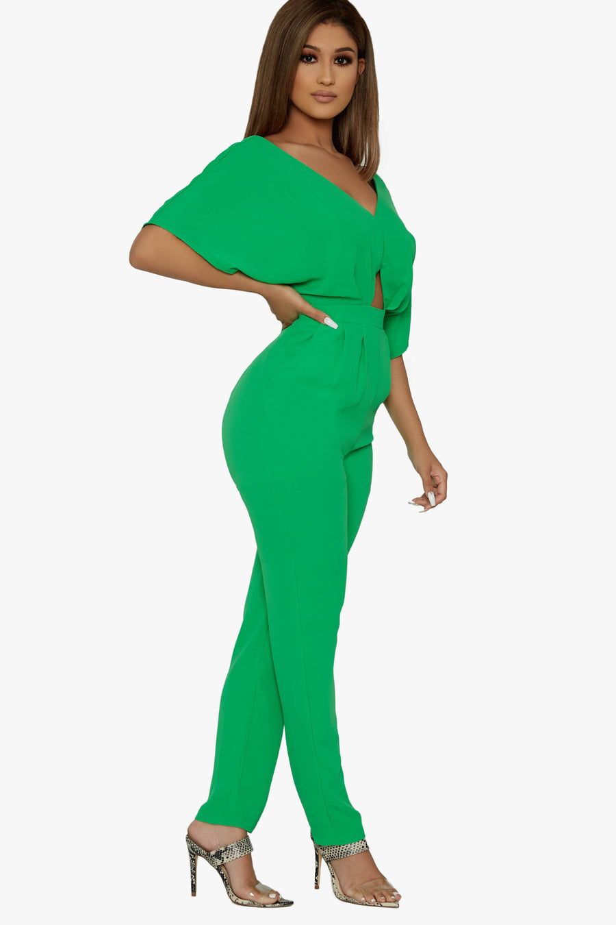Boss Lady Jumpsuit