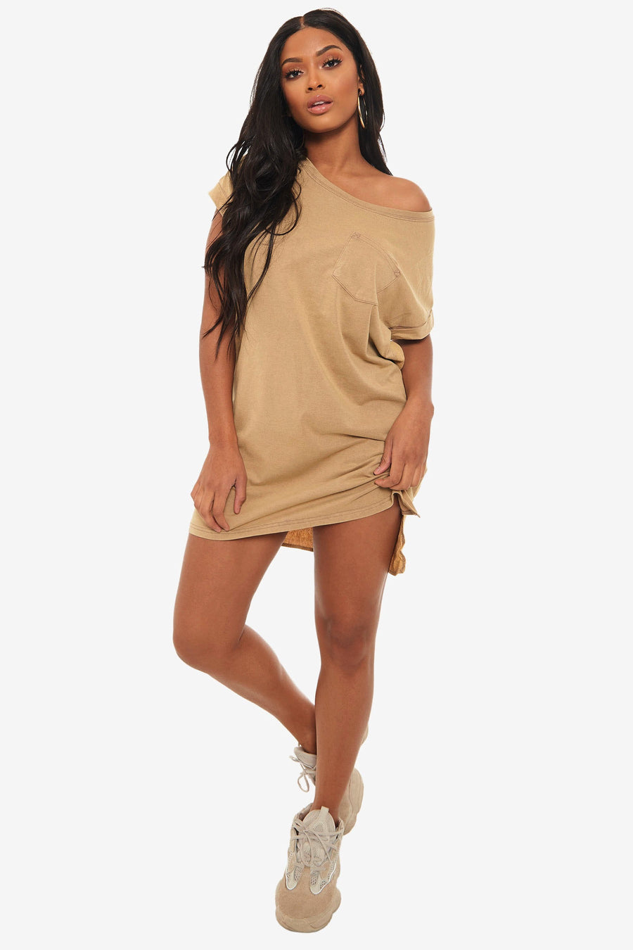 Halsey Oversized T-Shirt Dress