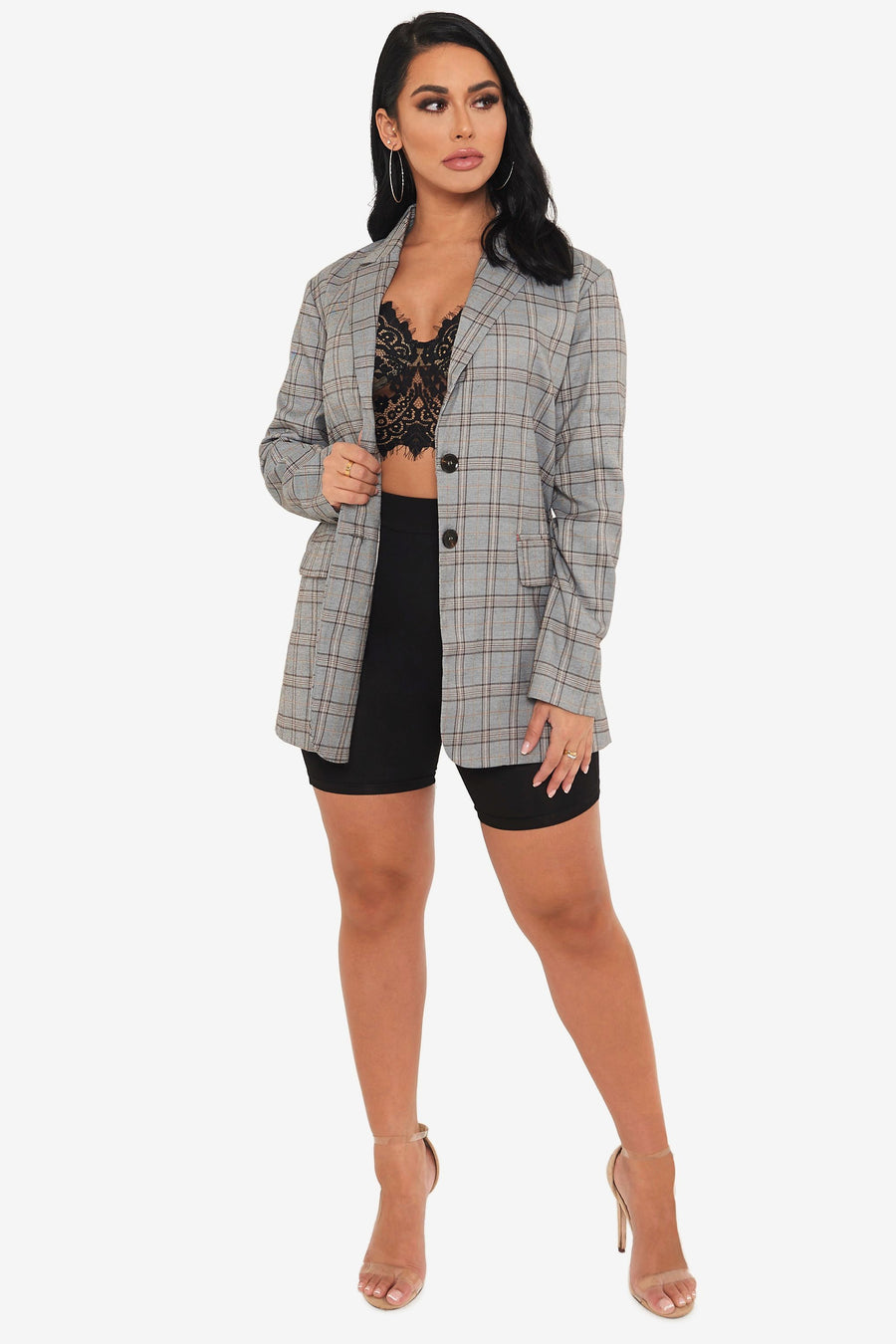 Diaries Plaid Blazer