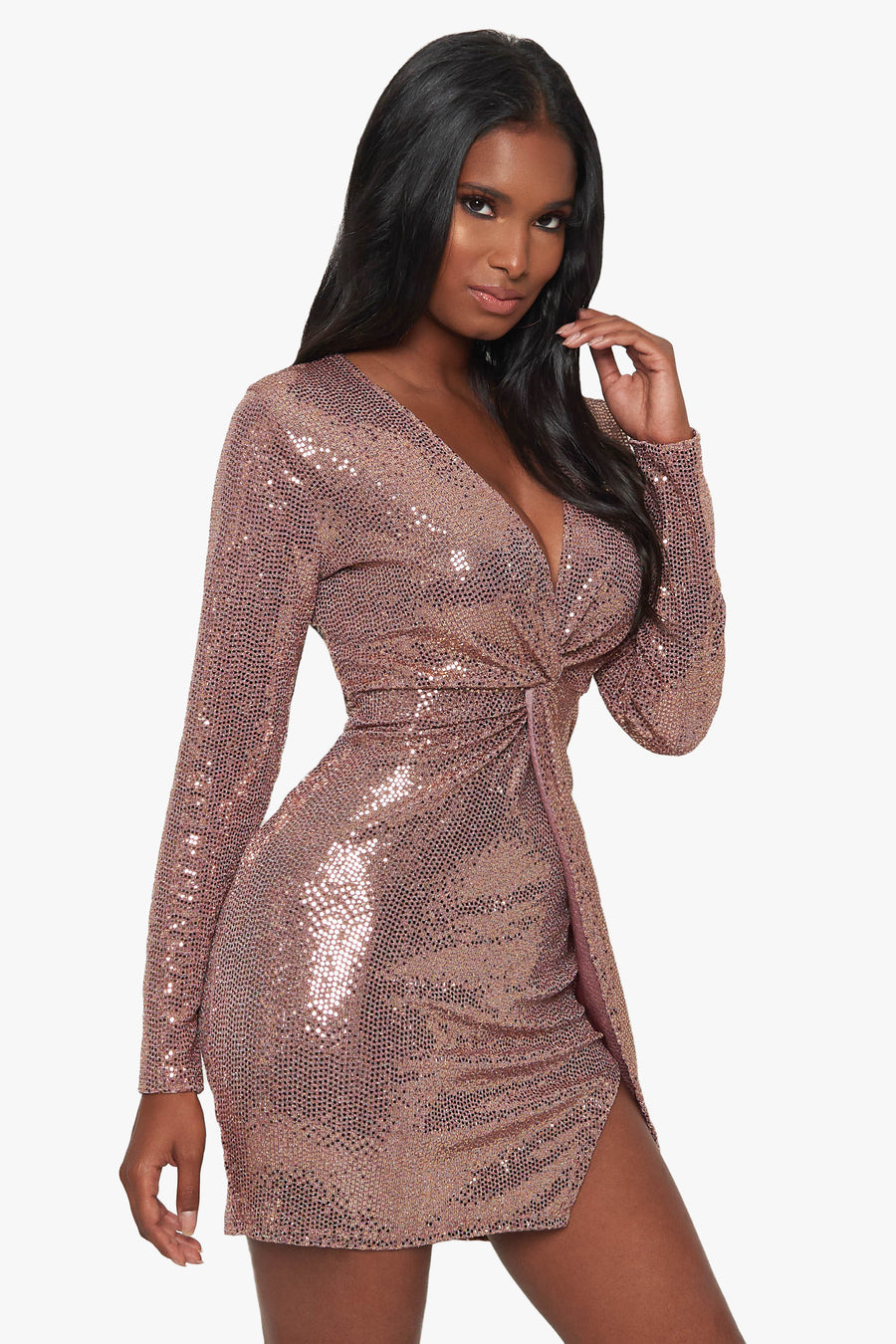 Where's The Party Sequin Dress