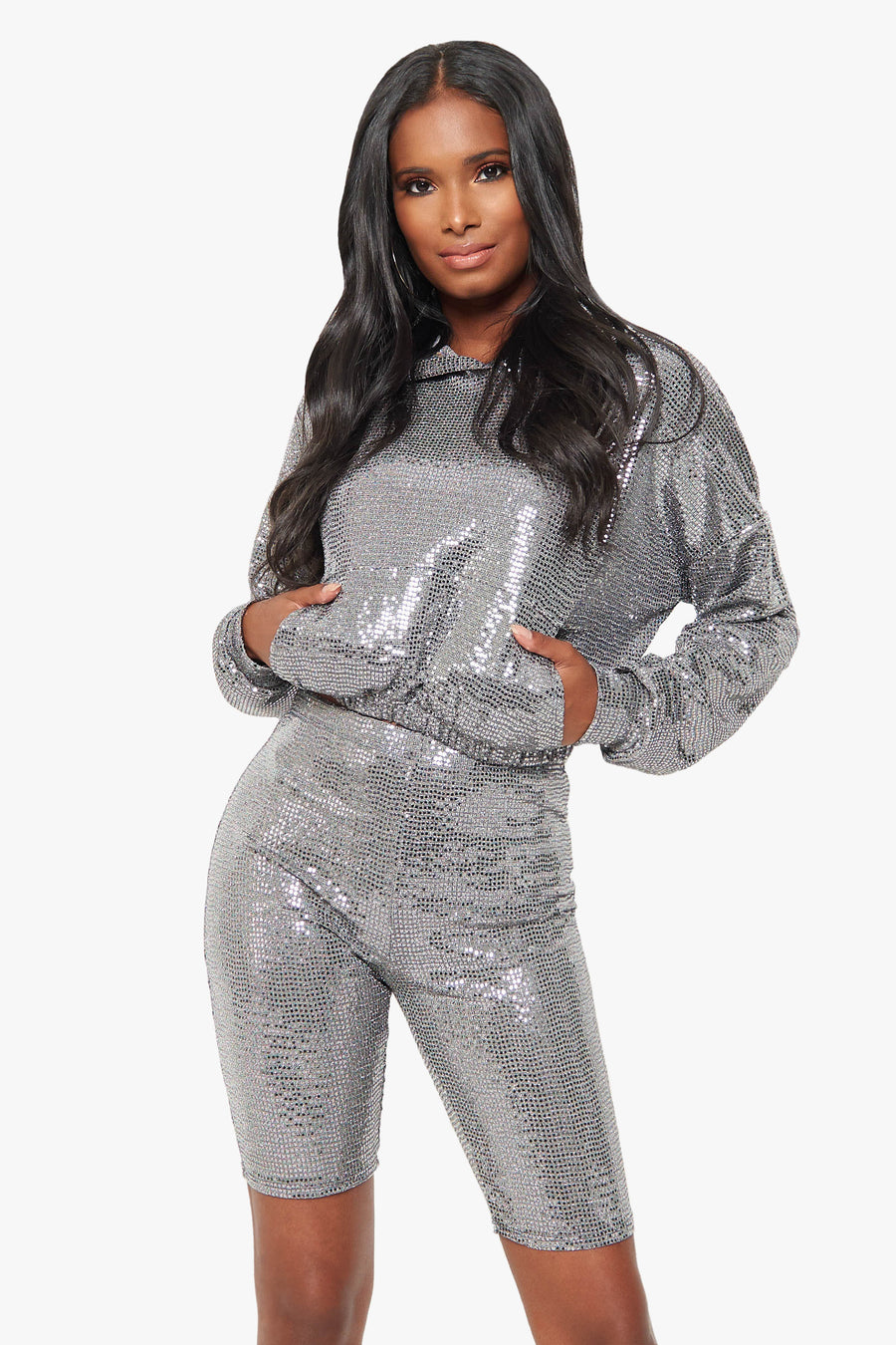 More Than Casual Sequin Set