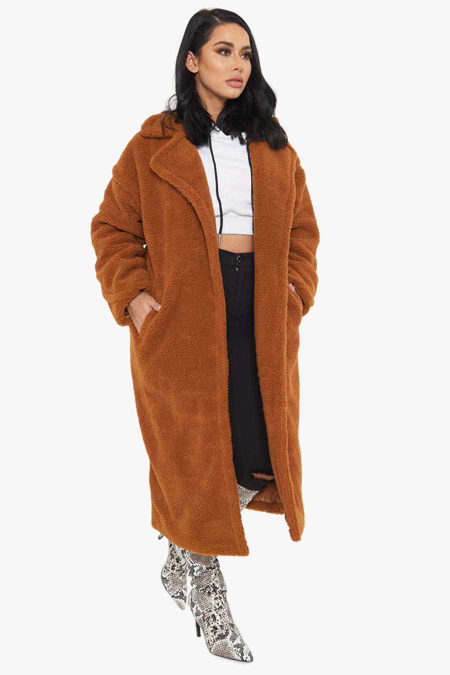 From The Bay Sherpa Coat