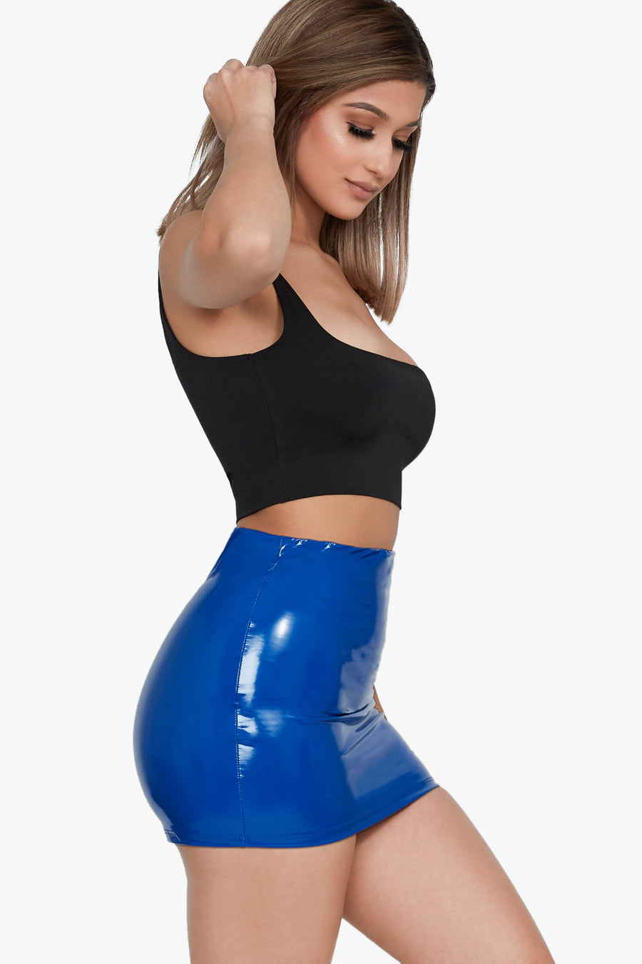 F Feelings Latex Skirt