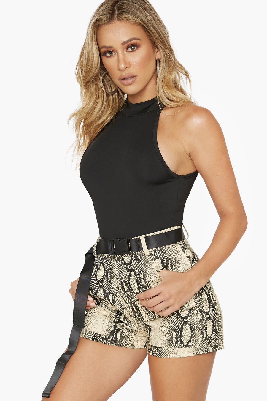 Into The Wild Snake Print Short