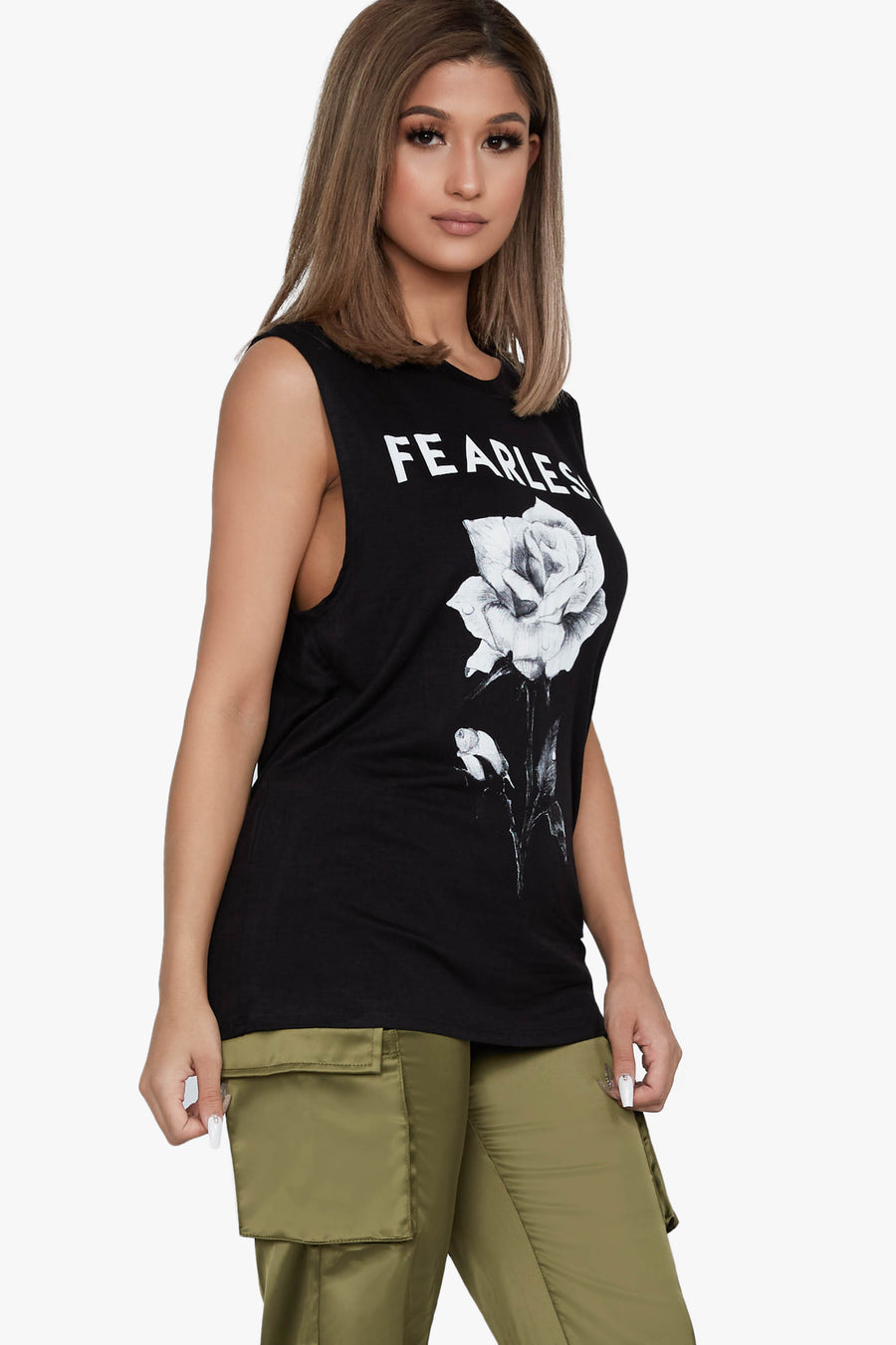 Almost Fearless Graphic Tank
