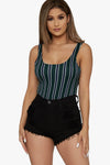 Polo Club Striped Bodysuit