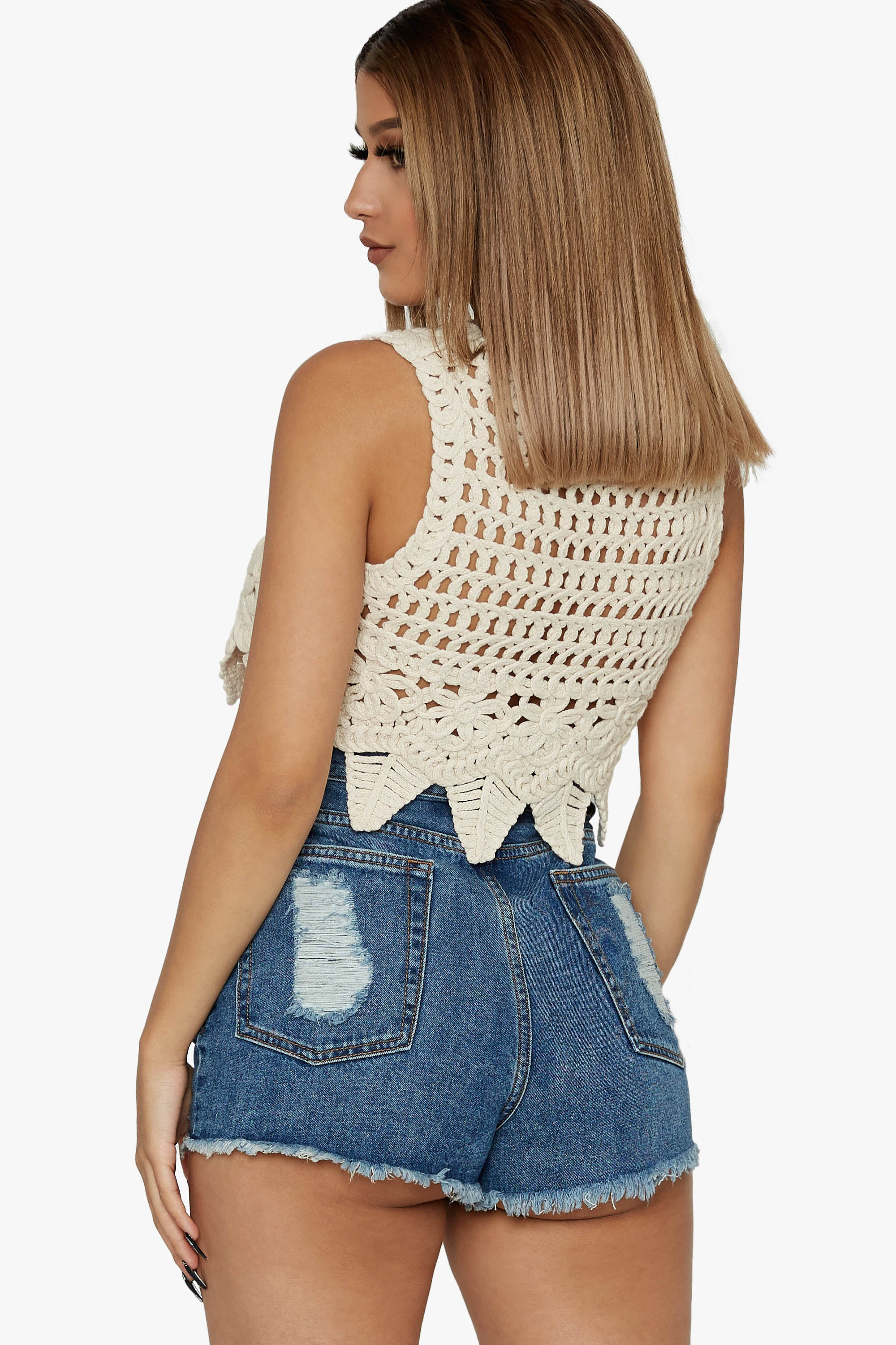 Golden Hour Crochet Top